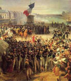 Modern egalitarianism has roots in the French Revolution